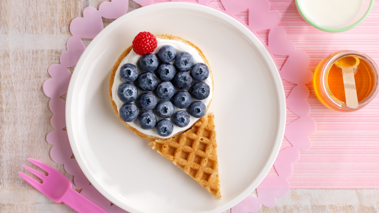 Berry Waffle Berry Cone Recipe