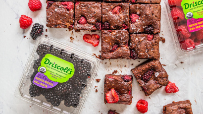 Blackberry and Raspberry Brownie Recipe