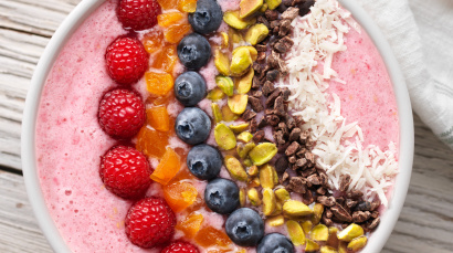 Berry Rainbow Smoothie Bowl