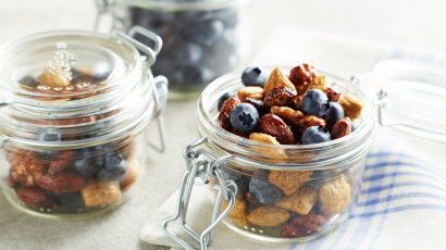 Gluten-Free Spicy Blueberry Trail Mix