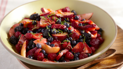 Spicy Summer Fruit Salad
