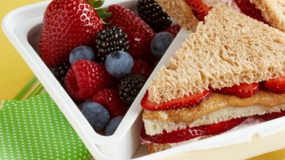 Berry Club Sandwich