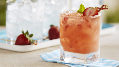 Ginger Strawberry Mojito