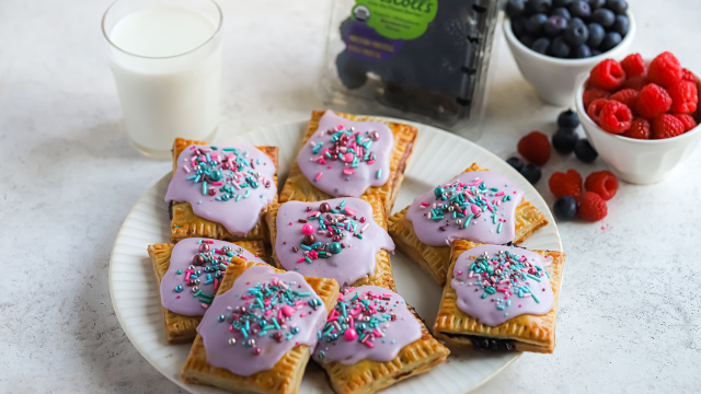 Homemade Pop Tarts With Mixed Berries Driscolls